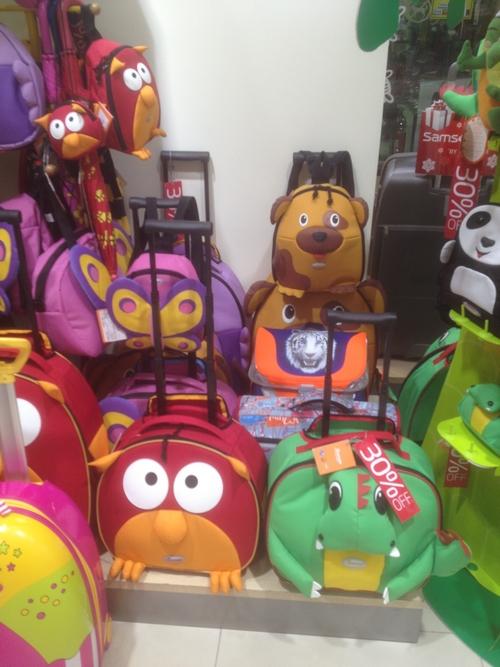 детские чемоданы от марки Самсонайт