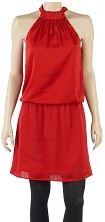 красное летнее платье Camaieu