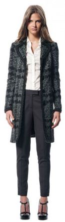 тренч из шерсти и хлопка, осеннее платье их хлопка, брюки - Sisley