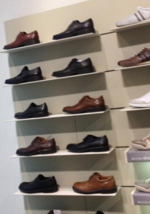 страшные ботинки Ecco
